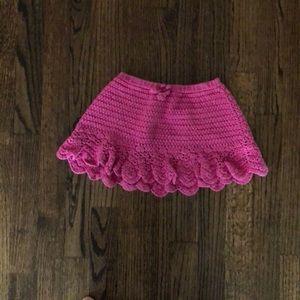 Gymboree knit skirt